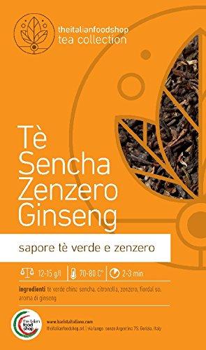 Tè Sencha Zenzero Ginseng