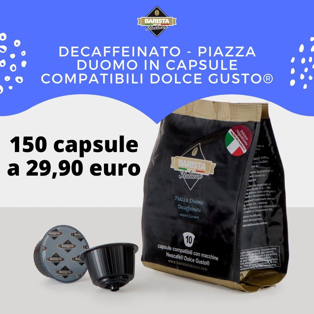 150 CAPSULE COMPATIBILI DOLCE GUSTO DECAFFEINATO