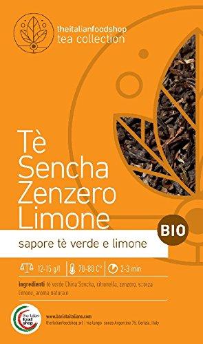 Tè Sencha Zenzero e Limone