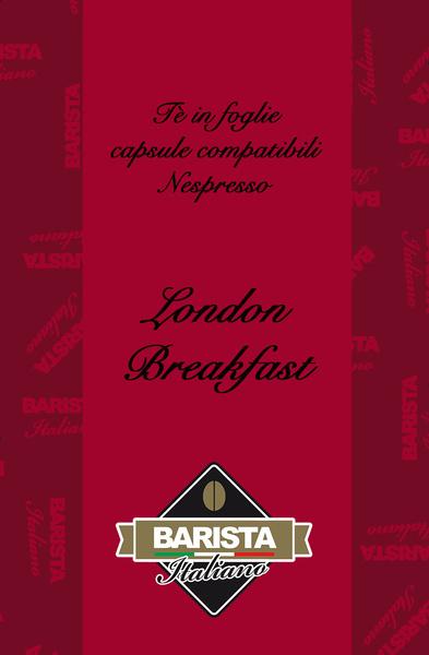 Capsule Nespresso Tè  London Breakfast