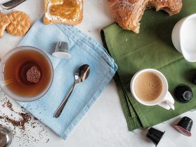 Mix caffe e te capsule Nespresso